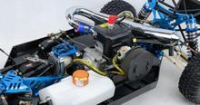 LT CNC metal fuel tank cap  For 1/5 HPI Baja Losi 5ive T