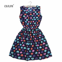 2016 sping summer autumn new vestidos Women casual Bohemian floral leopard sleeveless vest printed beach dress