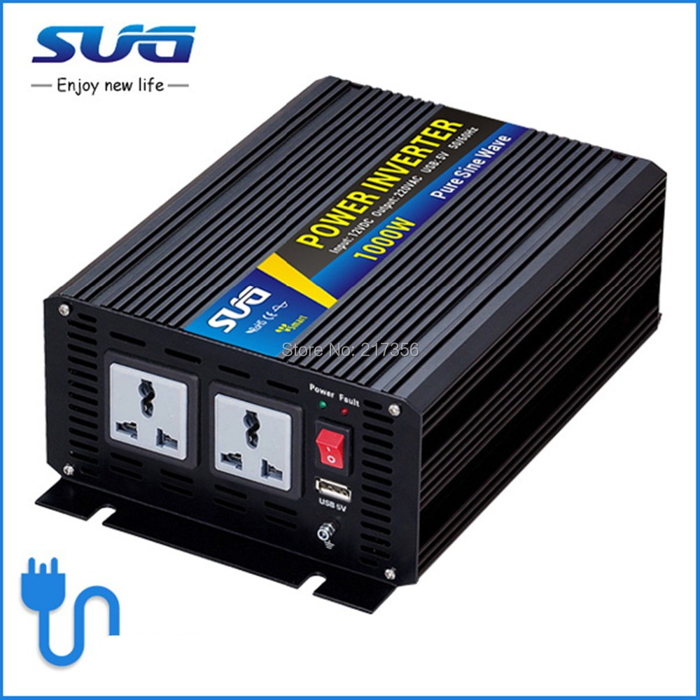 1000W with charger function Inverter Pure Sine Wave Inverter 2000W Peak Power CE,ROHS(China (Mainland))