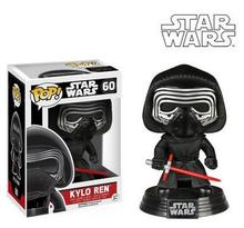 NEW Genuine FUNKO POP 10cm Star Wars: The Force Awakens kylo ren  action figure Bobble Head Q Edition new box for Car Decoration