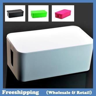 Cablebox Cable wire storage box 24*13*10CM free shipping