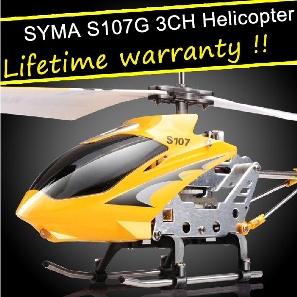 Original identify! Syma S107G RC Helicopter 3Channel Remote control helicopter with gyro and light+Original box(China (Mainland))