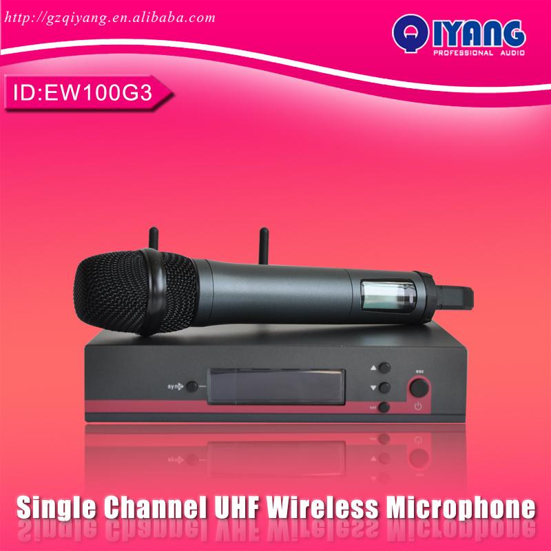 EW100G3 Single Channel professional UHF Wireless Microphone<br><br>Aliexpress