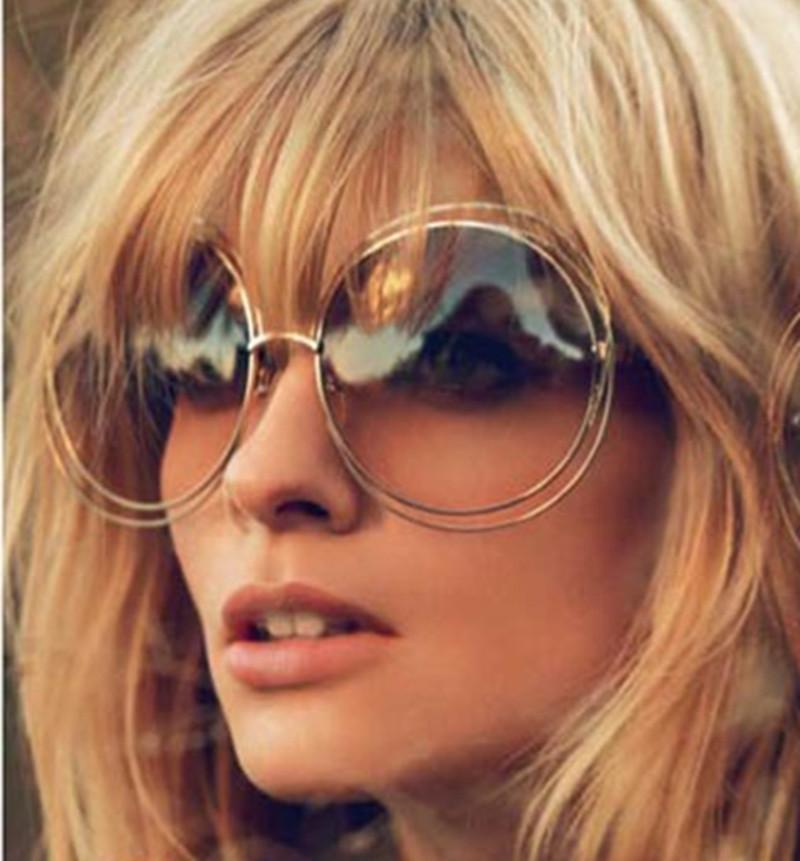 2016 Vintage Sun Glasses For Women Round font b Sunglasses b font Ladies Female font b