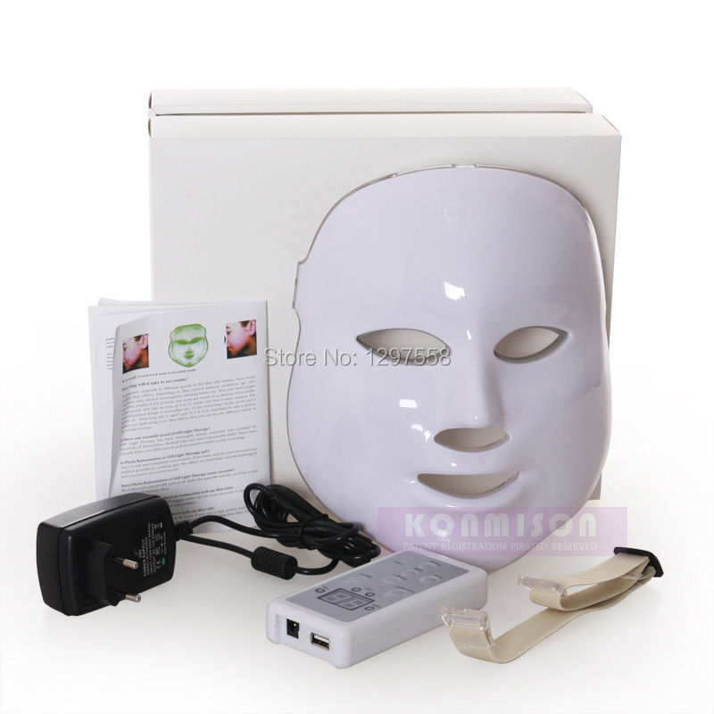 New skin LED mask red blue green LED light therapy PDT Mask(China (Mainland))