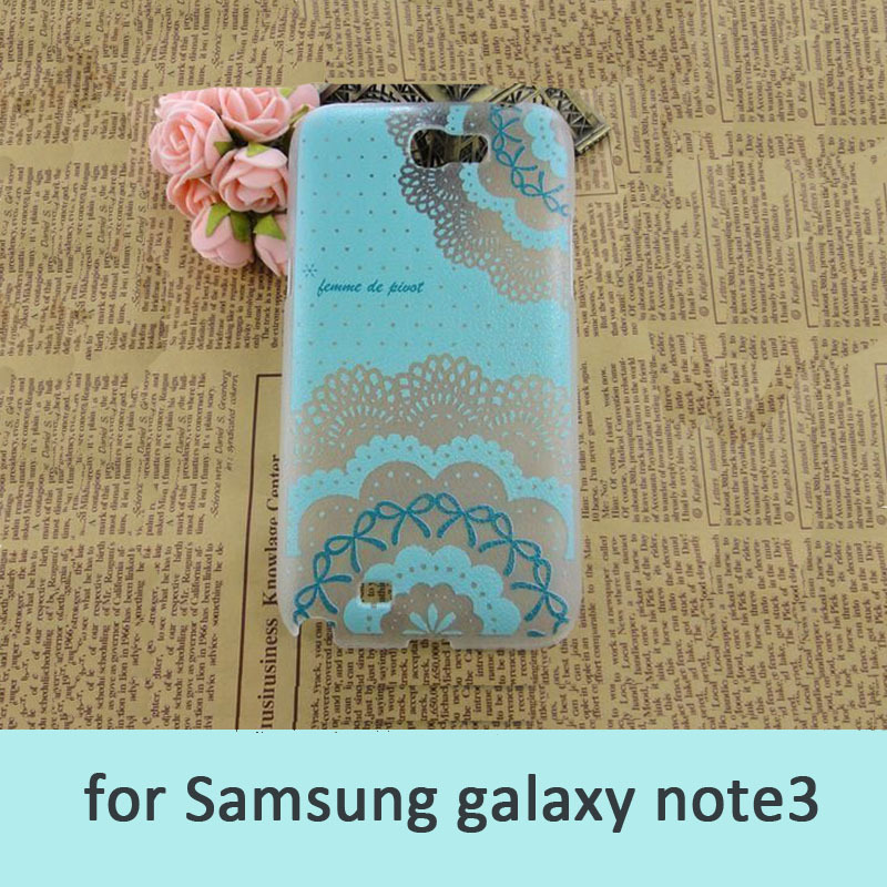 beautiful cartoon flower pc hard case for samsung note3 girls telephone case for samsung galaxy free shipping(China (Mainland))
