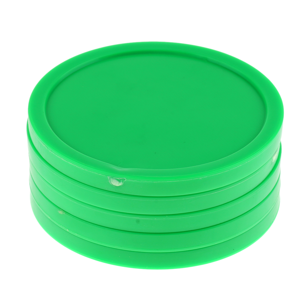 5 Pieces 82mm Air Hockey Replacement Pucks For Game Tables Accessories Standard Air Hockey Equipment Pucks