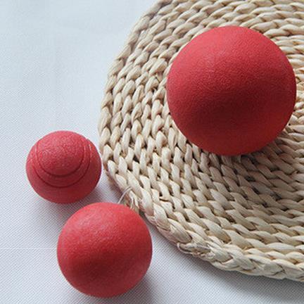 Игрушки для животных для собак Pet Шар Красный Жевать Игрушка Укус Устойчивостью пэт Мяч ThrowerNo токсичных и запаха резиновый собака мяч игрушки для собак