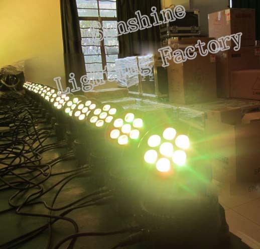 7x10w Hot Christmas bars foreign family banquet hall lighting and sound equipment stage lighting LED moving head wash(China (Mainland))