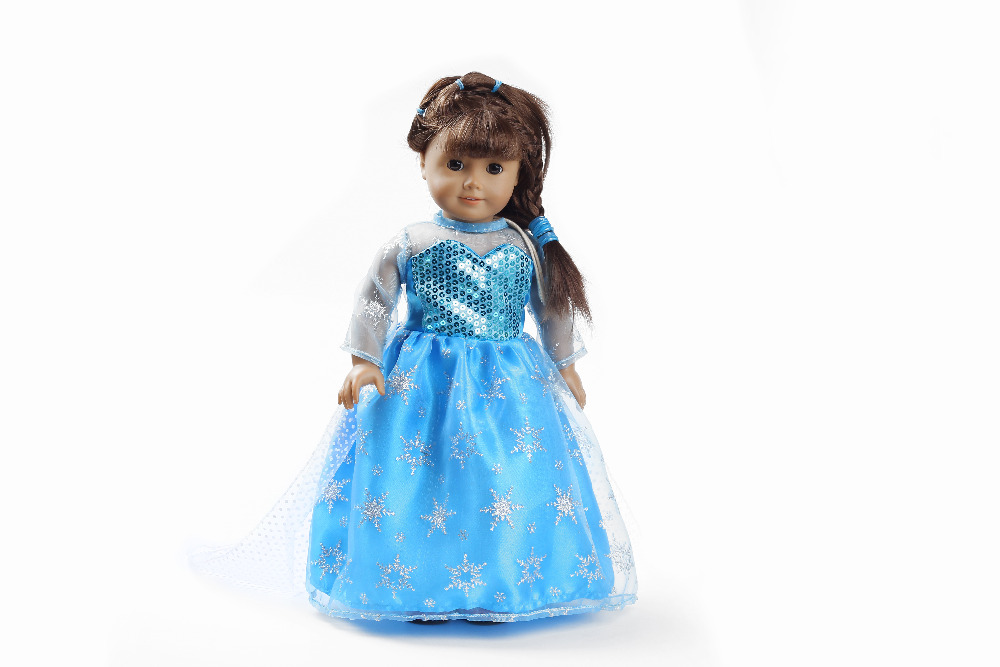 Free shipping!!! hot 2014 new style Popular 18 American girl doll clothes/dress b-h125<br><br>Aliexpress