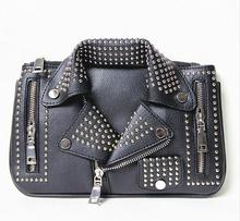 Buy Bolsos Mujer women bags Designer clutch fashion rivet motorcycle shoulder bag new summer fashion handbag chain Crossbody casual for $13.99 in AliExpress store