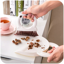 Set with Mini-dust dustpan small broom, cooking hob dead Desktop keyboard cleaning brush (China (Mainland))