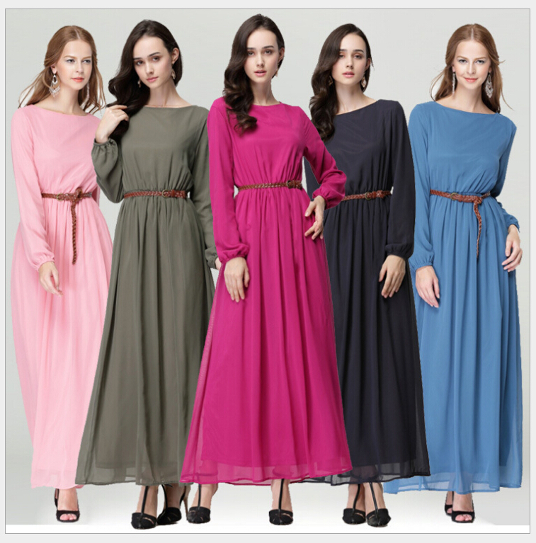 Muslim Abaya Hijab Dress Islamic Clothing For Women Jilbabs And Abayas Indonesia Muslim Dress