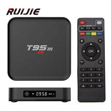 Buy Android 6.0 Tv Box T95M 1G/8G 2G/8G Built 2.4G WiFi Amlogic S905X Quad Core KODI 16.0 H.265 4K Smart Media Player for $38.99 in AliExpress store