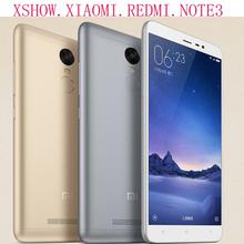 100% Original Xiaomi Redmi Redrice Note 3 MTK Helio X10 5.5 Inch  2G Ram 16G Rom 1080p HD  5MP 13MP Camera  4000mAh Freeship(China (Mainland))
