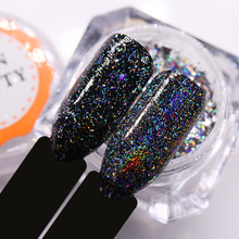 Buy BORN PRETTY Galaxy Laser Nail Sequins Holo Flakes Bling 0.2g/0.5g/1g Holographic Glitter Powder Paillette Nail Art Decoration for $1.55 in AliExpress store