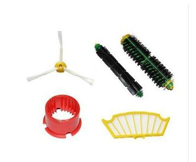 (5pcs/set) Brush set + Clean Tool +Filter for iRobot Roomba 500 600 Series 550 560 610etc replacement Vacuum Cleaner Accessories(China (Mainland))