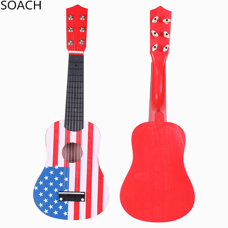 buy soach ukulele children toys guitar strings type kids guitar musical. Black Bedroom Furniture Sets. Home Design Ideas