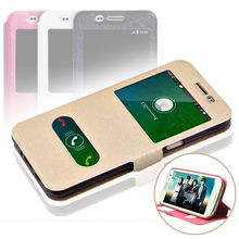 For Samsung Galaxy 2016 J1 J3 J5 SAMSUNG A3 A5 A7 2016 Case A3 A5 A7 J1 J2 2015 Smart Window View Phone Leather Cases Flip Cover(China (Mainland))