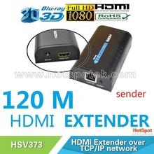 Wireless HDMI Extender Transmitter TX over TCP/IP ethernet cat5/5e/6 RJ45 1080p support 1 transmitter to multi reveivers