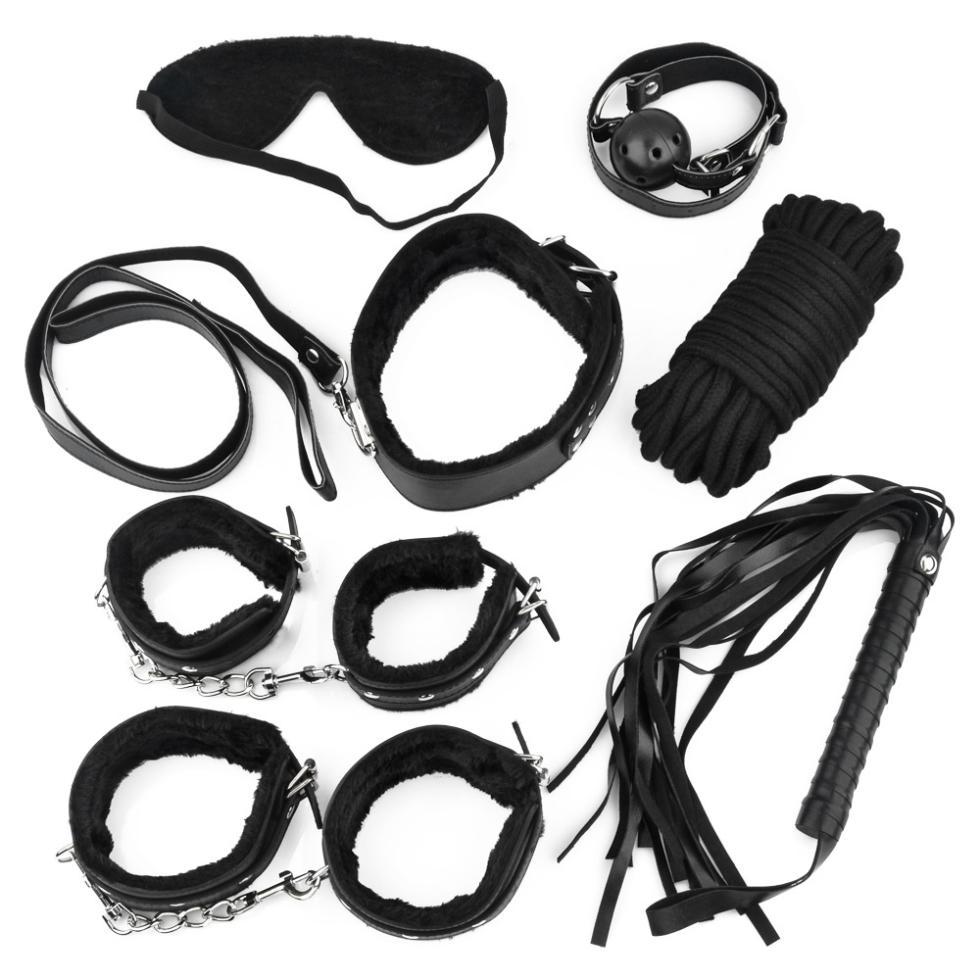 Интимная игрушка 7 Eyemask Legcuff Fun гель массажный на водной основе electro sex gel 118 мл