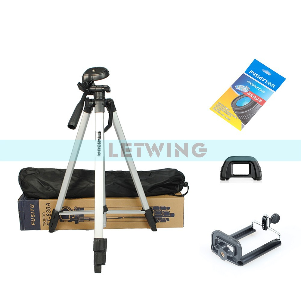 High Quality FT830 Universal Aluminum Alloy Retractable Camcorder Camera Tripod Stand - Black(China (Mainland))