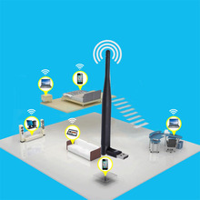2.4GHz 5GHz Dual Band WiFi USB Wireless Adapter Antenna 802.11ac 433Mbps(China (Mainland))