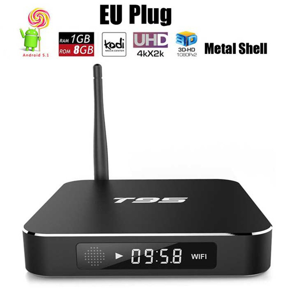 Sunvell T95 TV Box Amlogic S905 Quad Core Real-time Display Box Set-Top Box TV Online Player 2.4GHz WiFi HD 2.0 Connectivity(China (Mainland))