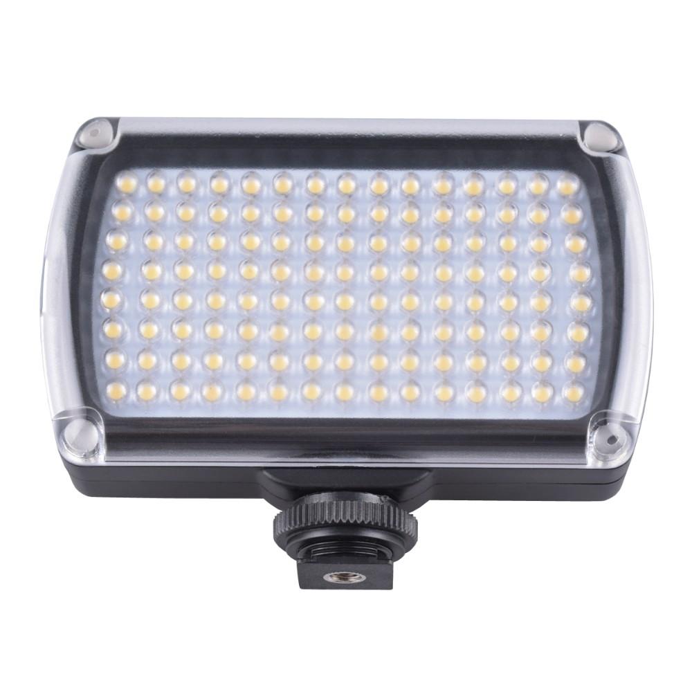 ถูก 120 LEDไฟวิดีโอXH-120โคมไฟ9วัตต์850LMหรี่แสงได้สำหรับกล้องวีดีโอแต่งงานกล้องDSLRที่มี2500มิลลิแอมป์ชั่วโมงแบตเตอรี่ACอะแดปเตอร์