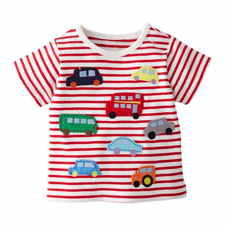 1-6Y Baby t-shirts Cotton Cartoon Grils boys t-shirt girls clothing top designer boys clothes Summer shirt clothes for teens