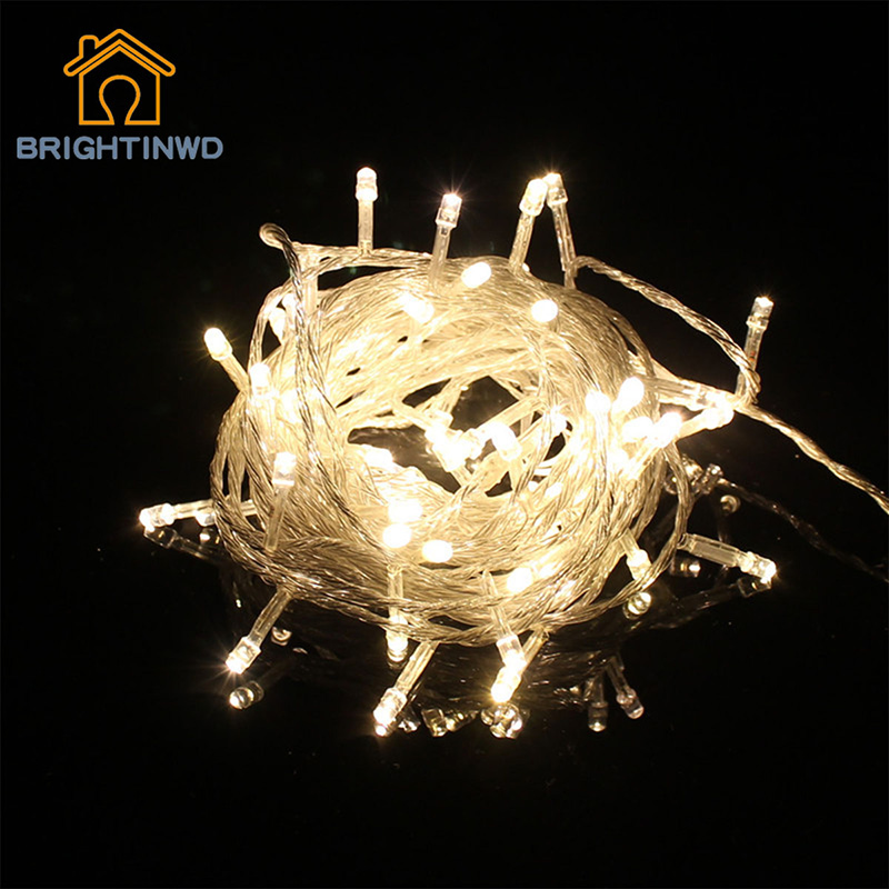 Holiday Star Lighting10M 100 LED String light For Festival Garland Party Decoration Christmas Waterproof Flasher Fairy Lights(China (Mainland))