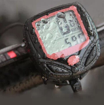 2015 Waterproof Speedometer Mountain Road MTB Cycle Digital LCD Display Cycling Bicycle Bike Computer Odometer - Honesty Boutique CO.,LTD store