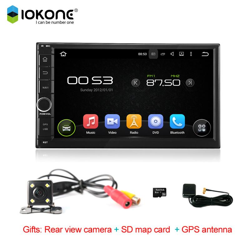 2 Pin car radio 7 Inch 2 din Android 5.1 Car GPS Radio Navigation Multimedia Player No disc HD 1024*600 Video WIFI(China (Mainland))