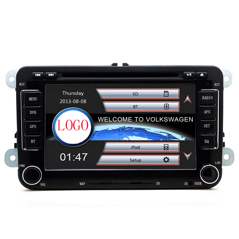 2din 7 inchscreen Built-in canbus Car DVD GPS Navigation VW JETTA PASSAT/B6/CC GOLF 5/6 POLO Touran Tiguan Caddy SEAT - Hansunda Multimedia Co., LTD store