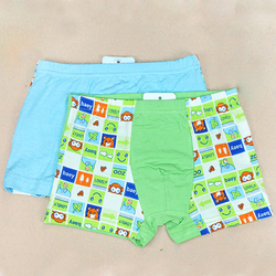 china underwear factory sale for  boys pants bamboo fiber underwear boxer briefs