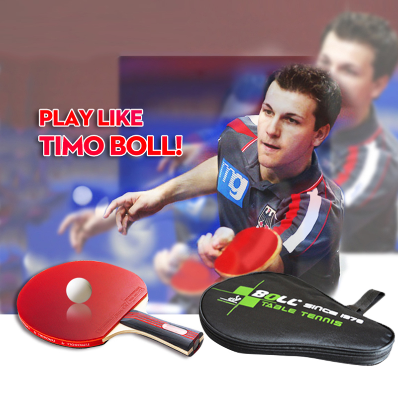 Brand Quality Table Tennis Rackets Pimples-in Rubber Bat for Fast Attack and Loop or Chop Type Player Low Price Racket(China (Mainland))