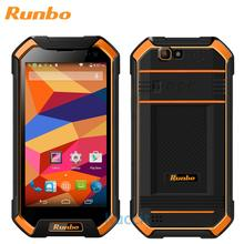 upgrade version 3GB RAM original Runbo F1 MTK6735 Quad Core rugged Waterproof Phone shockproof IP67 1920x1080 4G LTE Android GPS(China (Mainland))