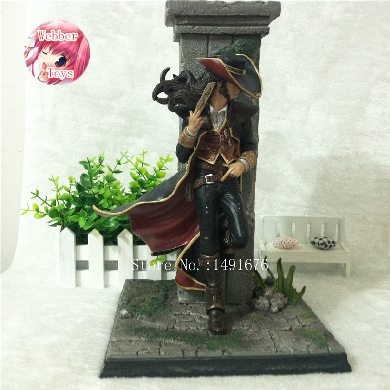 The Card Master Twisted Fate Action Figure 1 7 scale painted figure Twisted Fate The Card