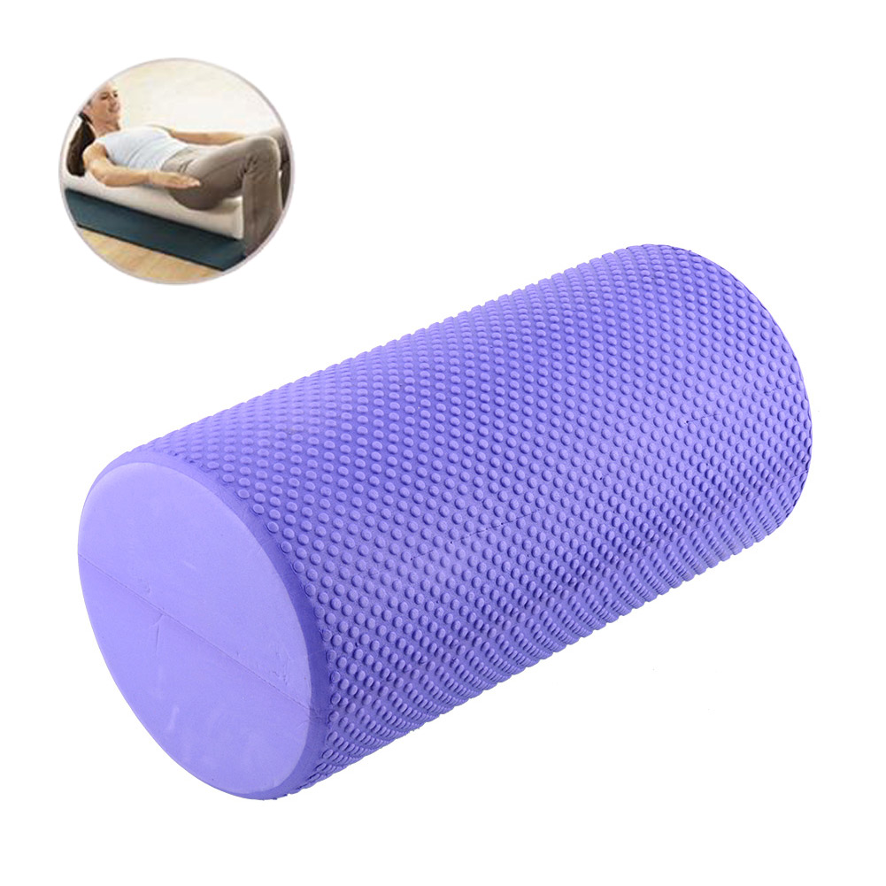 EVA Yoga Pilates Exercise Fitness Foam Roller Massage Point Multicolor Lose Weight Health Useful Free shipping