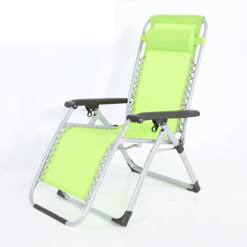 Enjoy fun new luxury office lunch break reinforced folding bed single bed folding chair recliner chair beach bed siesta   FREE S<br><br>Aliexpress
