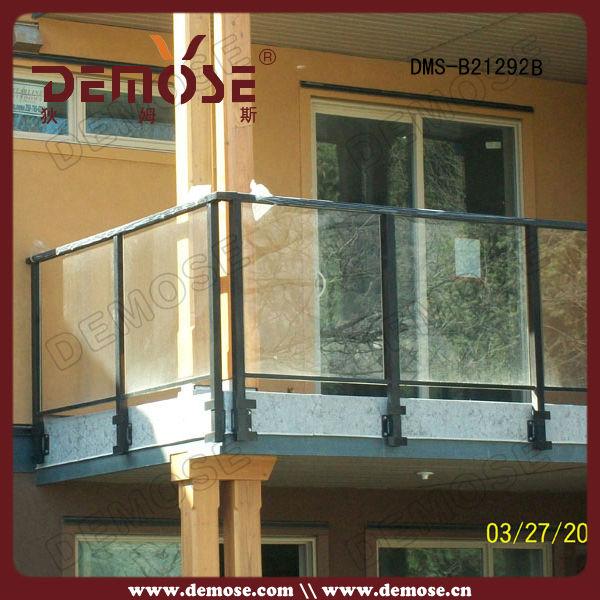 Outdoor glas reling/balustrade/leuning balkon vormgeving in &nbsp ...