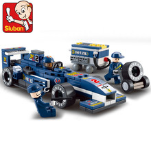 M38-B0351 F1 Racing Car Model Building Block Set 3d Construction Diy Brick Toys Enlighten Toy For Children compatible with brand(China (Mainland))