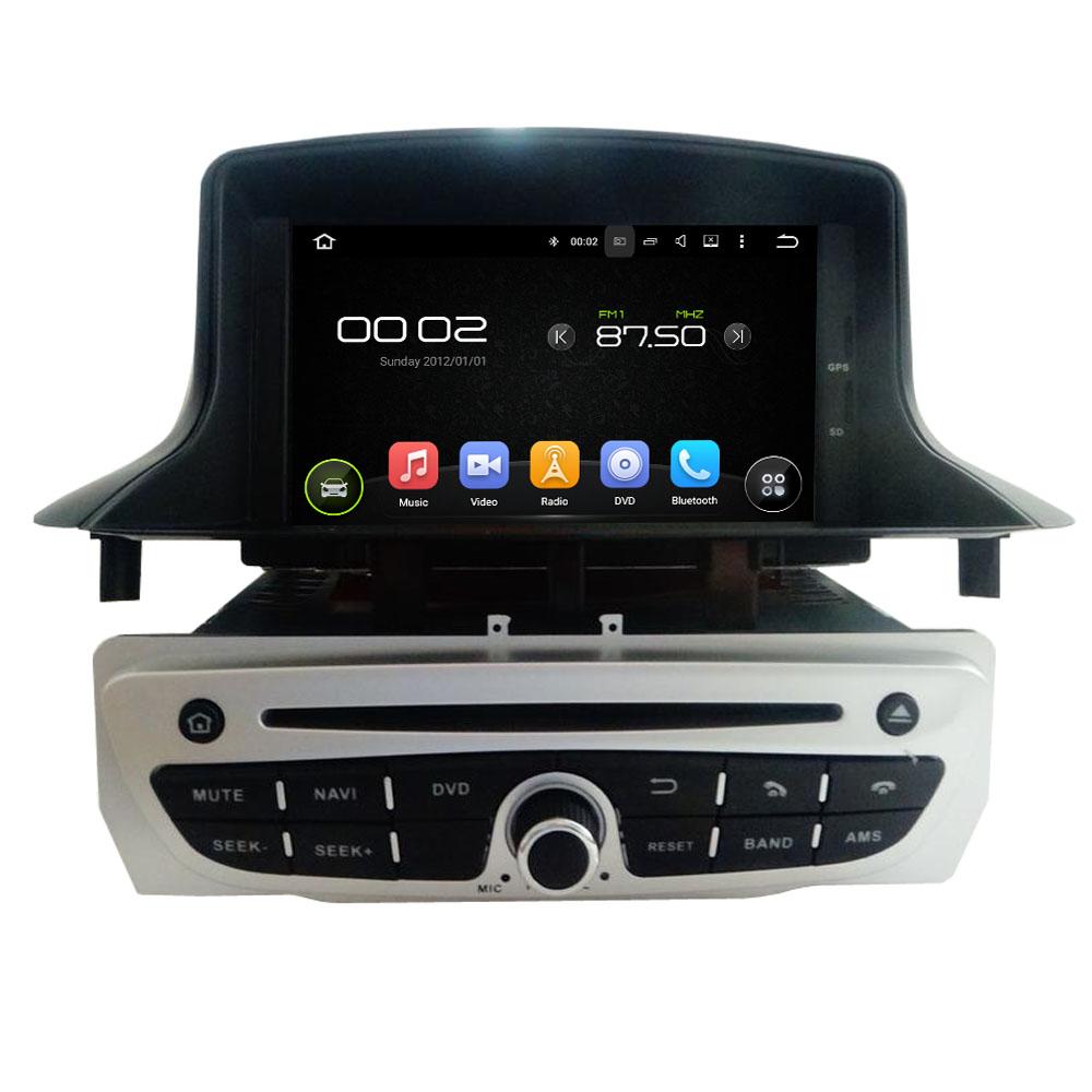 Octa/Quad Core Android Fit RENAULT Megane III Fluence 2004 - 2014 1015 2016Car DVD Player Navigation GPS Radio(China (Mainland))