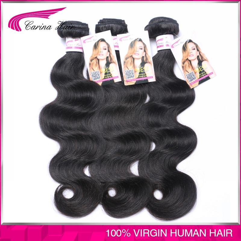 Free shipping Natural hair Peruvian body wave halo hair extension ,100% peruvian hair 3pcs lot , mix 8-28,natural black<br><br>Aliexpress