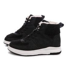 Yeni 2018 Kış Ayakkabı Kadınlar Düz Topuk Martin Çizmeler Moda kadın Çizmeler Marka Kadın Ayakkabı Ayak Bileği Botas El Taban(China)