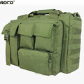 ROCOTACTICAL Multifunctional 15 Military Laptop Bags Army Briefcase Bags Military Utility Messenger Bag With 1 Shoulder