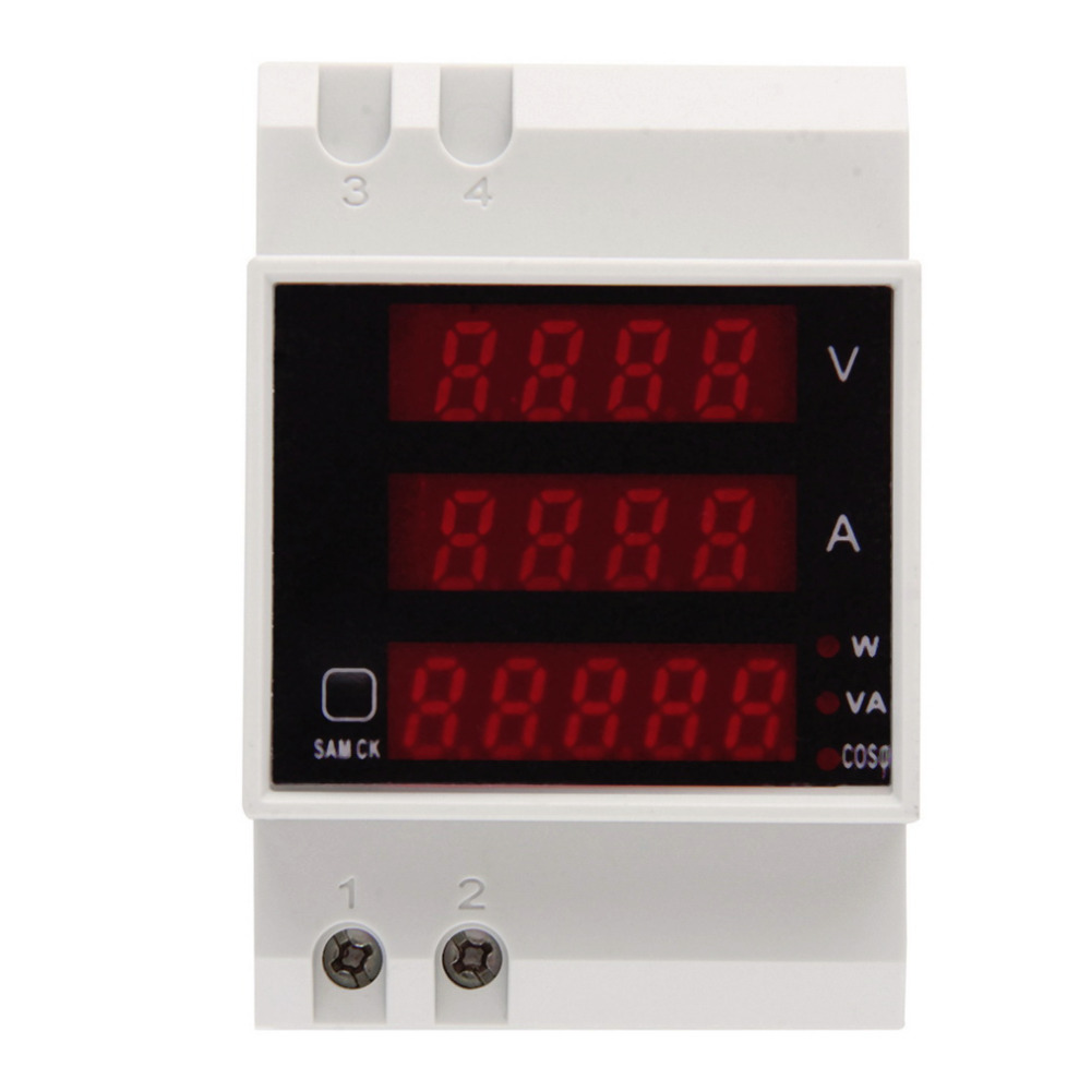 1pc D52-2048 AC 80-300V LCD Digitial Multi-Functional Meter Voltmeter Ammeter Drop Shipping Wholesale<br><br>Aliexpress