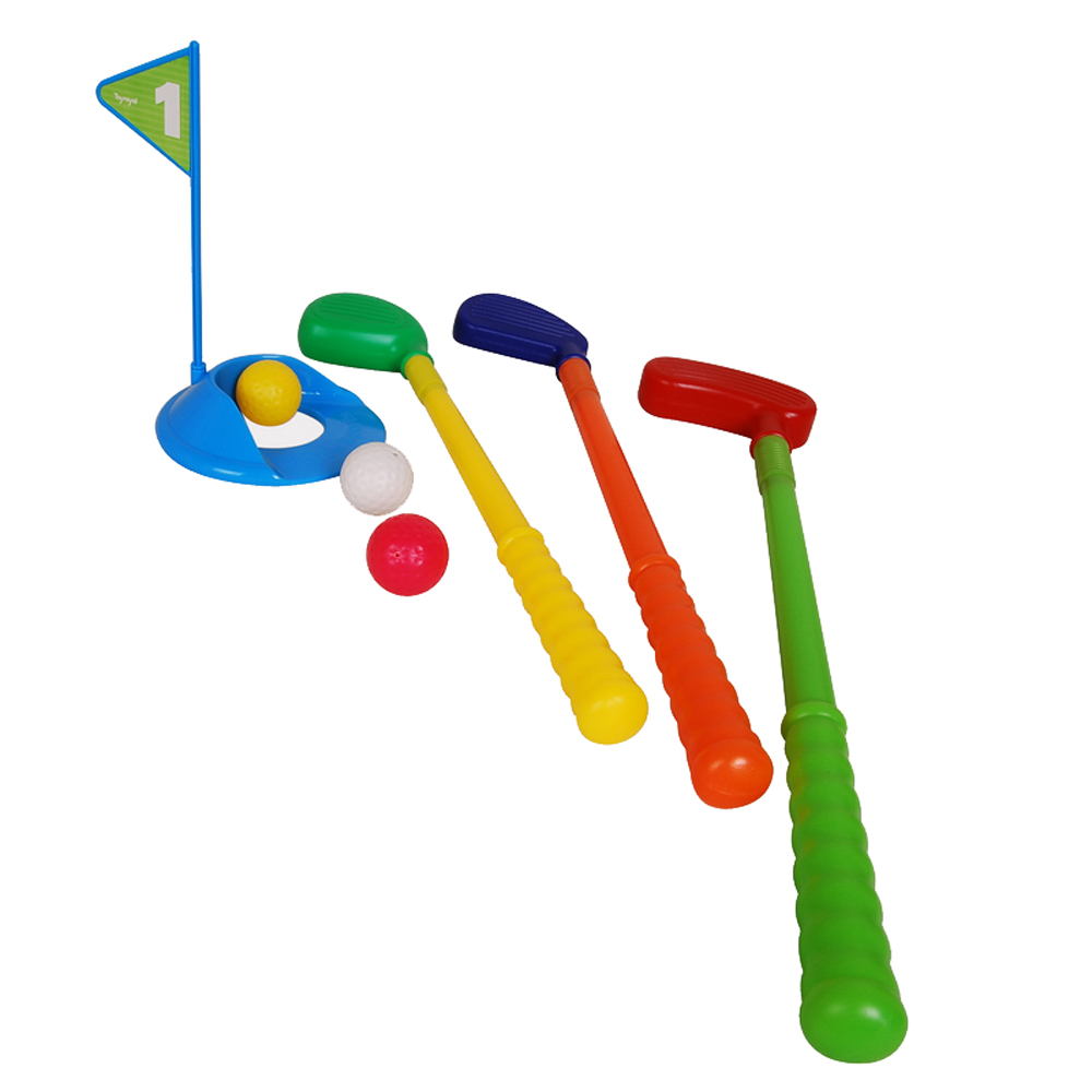 Royal child golf ball rod extension toy set 5 toys outdoor sports parent-child(China (Mainland))