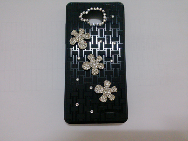2pc Bulk original Novelty Luxury Peacock and Five leaf grass Diamond Cover For jiayu g3 Crystal Peafowl Bling Case+Free Shipping