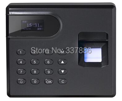 Anti-dismantle fingerprint keypad access control system  and time attendance